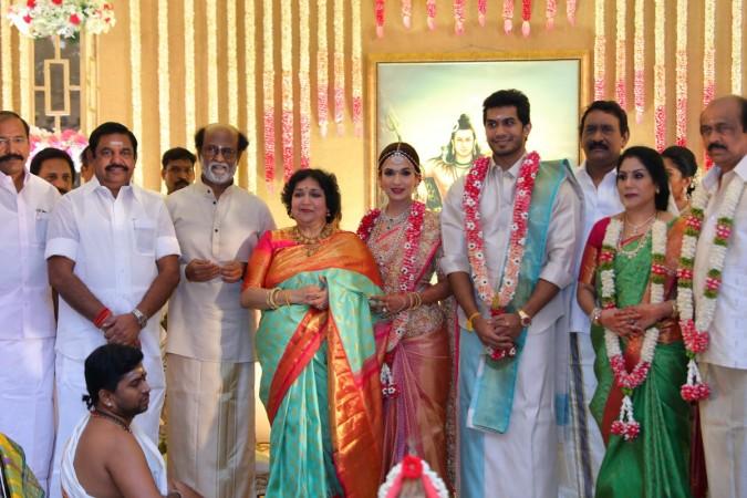 rajini daughter marriage க்கான பட முடிவு