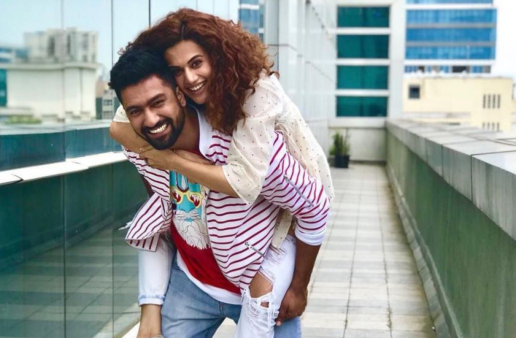 tapsee with vicky kaushal க்கான பட முடிவு