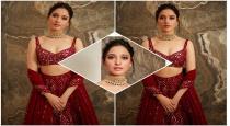 Thamana in ambani son marriage photos