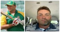 Jaque kallis with half beard and mustache