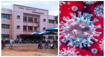 The first corono positive case at thanjavur