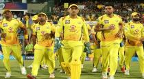IPL 2020 first march CSK won toss and chose to field