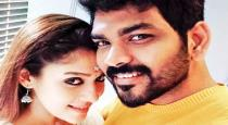 Lady super star joined in Vignesh sivan