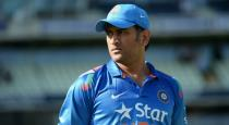 Dhoni avoided by indian players video goes viral