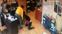 Girl fight with thief video goes viral
