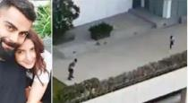 Virat Kholi playing cricket with wife video goes viral