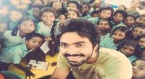 gv prakash offering for one school teacher