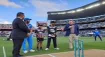 india won the toss and field first
