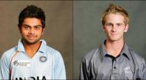 Virat kholi and williamsan meets after 11 years in world cup match