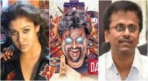Nayanthara join rajini dharbar movie set