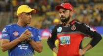 Chennai super kings vs royal challengers bangalore ipl t20 2019