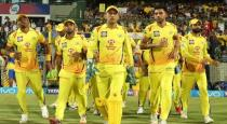 IPL T20 CSK time table