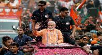Modi first speech after victory