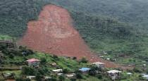 20 people died in landslide