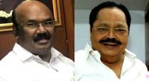 minister jayakumar talk about dmk