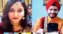 Mumbai boy ties knot with Delhi girl online