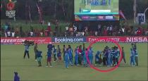 india-under-19-world-cup-fight-video