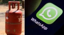 Gas refilling using whats app number