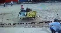 Cop damaged poor man handcart viral video
