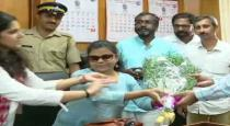 first time visually impaired women got IAS