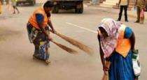 vijay-fans-helps-cleaning-people-in-coimpatore