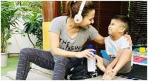 sowndarya-post-her-son-ved-playing-photos