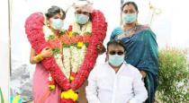 Marriage in vijayakanth home