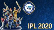 IPL 2020 first league full schedule