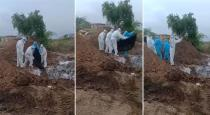 Human dead bodies dumped video goes viral