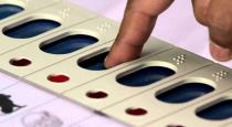 Zero polling in election booth