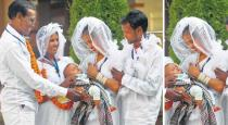 Father and son got married in same day