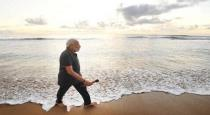 modi in beach