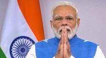 Prime Minister Modi pays homage to Pranab Mukherjee