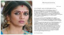 Actress nayanthara about telangana encounter