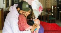 rohith sharma daughter video