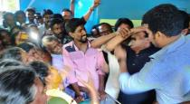 seeman crying and carry deadbody in driver funeral