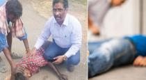 Doctor saved patient at road in Pudukottai