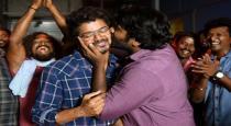 Master wrap up vijay sethupathi kissing vijay