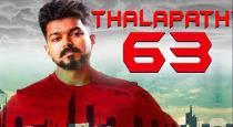 Accident happened in vijay 63 shooting spot