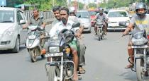 traffic police using new technique for without helmet